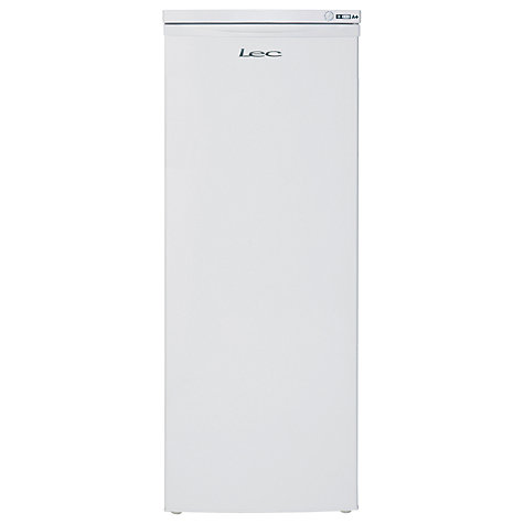 Buy Lec TU55142W Freezer, A Energy Rating, 55cm Wide, White Online at johnlewis.com