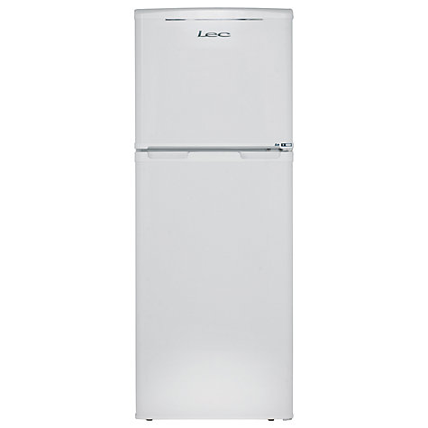 Buy LEC T50122W Fridge Freezer, White Online at johnlewis.com