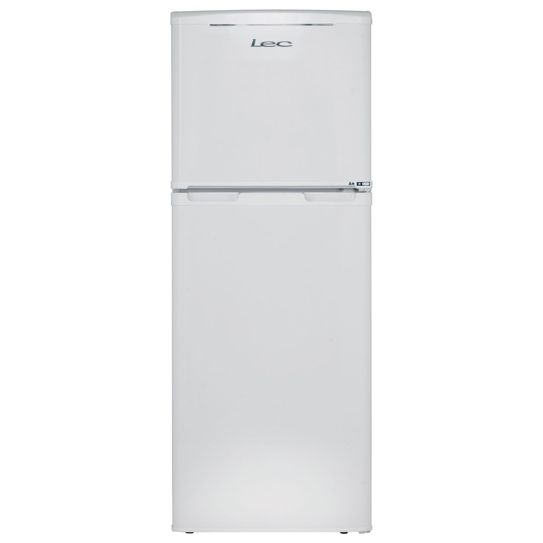 LEC Lec T50122W Fridge Freezer, A+ Energy Rating, 50cm Wide, White