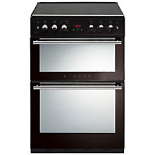Buy Stoves 61GDOT Gas Cooker, Black Online at johnlewis.com