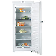 Buy Miele FN12421S Freezer, A+ Energy Rating, 60cm Wide, White Online at johnlewis.com
