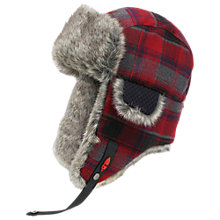 Buy Ignite Plaid Trapper Hat Online at johnlewis.com