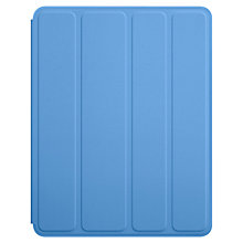 Buy Apple iPad Polyurethane Smart Case, Blue Online at johnlewis.com