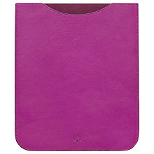 Buy Mulberry Simple Leather Case for 3rd generation iPad, Pink Online at johnlewis.com