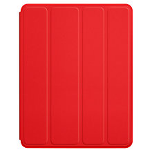 Buy Apple iPad Polyurethane Smart Case, Red Online at johnlewis.com