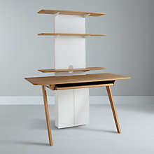 Buy Sebastian Conran for John Lewis Extension Unit Only for Desk Online at johnlewis.com