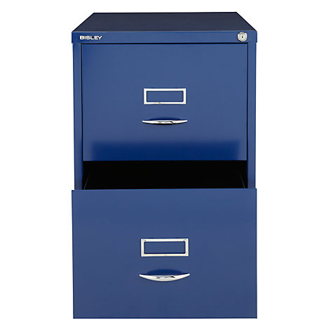 Buy Bisley 2 Drawer Filing Cabinet Online at johnlewis.com