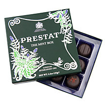 Buy Prestat Mint Chocolate Box, 125g Online at johnlewis.com