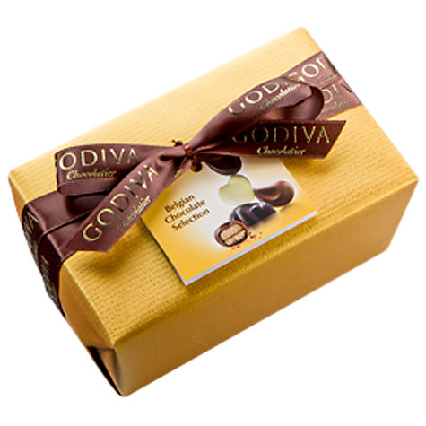 Buy Godiva Ballotin Assorted Chocolate Box, 350g Online at johnlewis.com