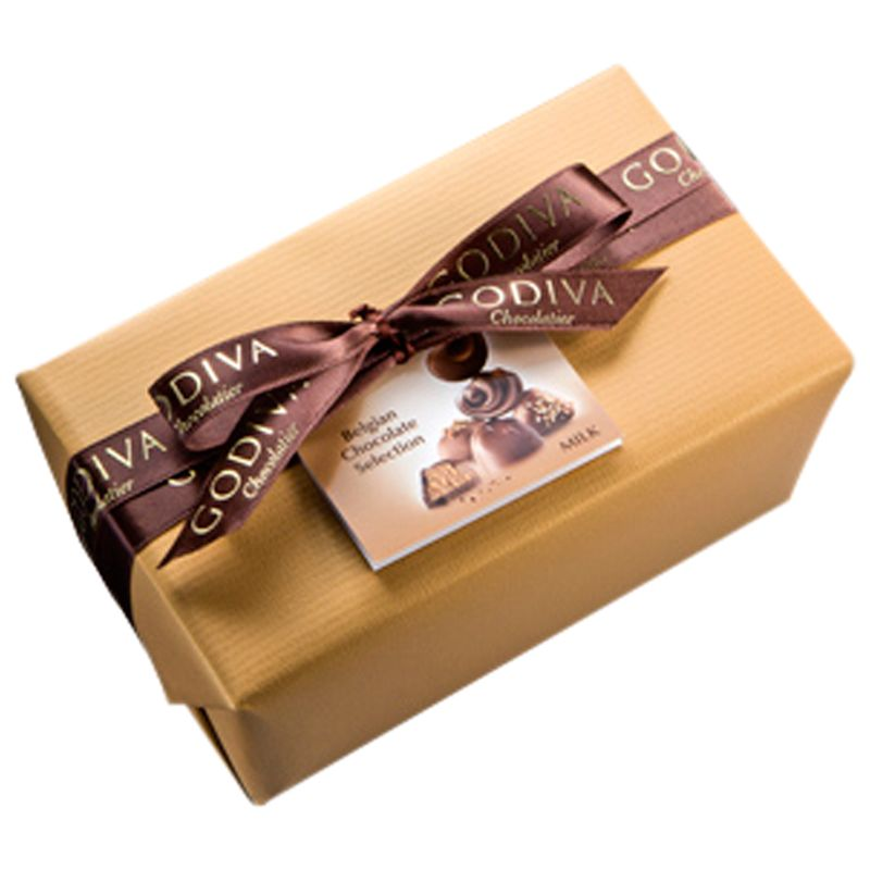 Godiva Godiva Ballotin Milk Chocolate Selection, 500g