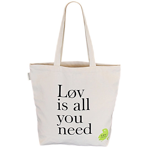 Buy All You Need Is Lov Bag Online at johnlewis.com