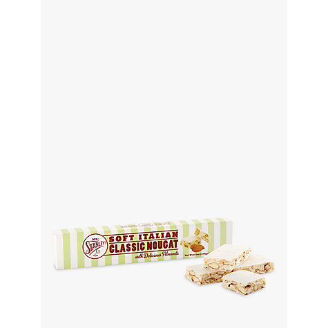 Buy Mr. Stanleys Almond Nougat Bar, 100g Online at johnlewis.com