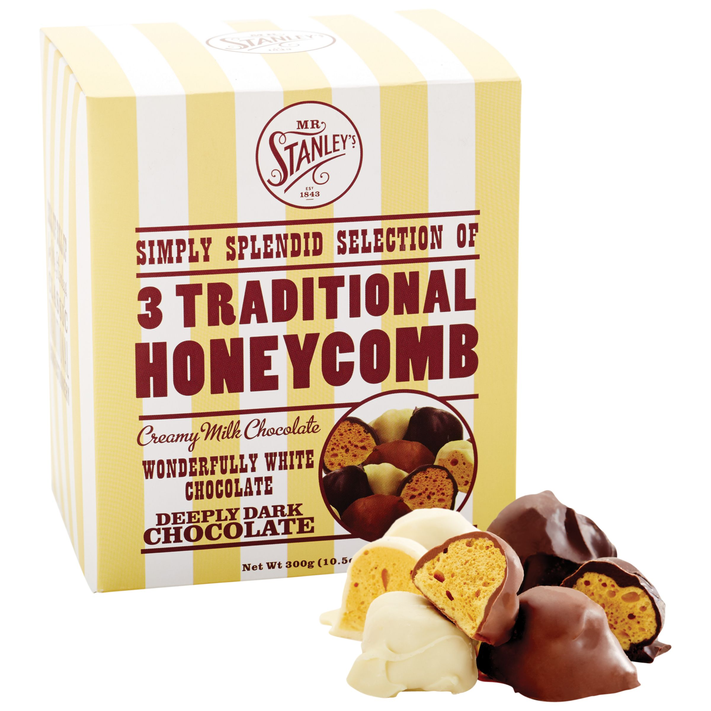 Mr Stanley's Mr. Stanley's Honeycomb Selection Box, 300g