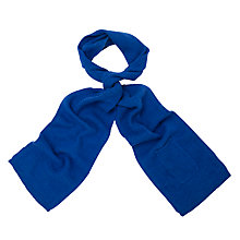 Buy John Lewis Wool Knitted Tech Scarf Online at johnlewis.com