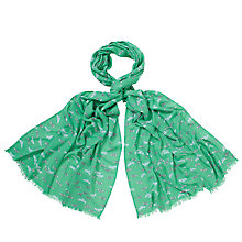 Buy John Lewis Dove Print Scarf Online at johnlewis.com