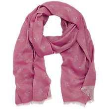 Buy Mulberry Tamara Silk Blend Tree Print Scarf Online at johnlewis.com