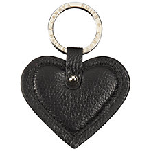 Buy Smith & Canova Leather Heart Keyring Online at johnlewis.com