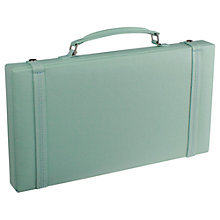 Buy LC Designs Pretty Jewellery Travel Case, Duck Egg Online at johnlewis.com