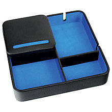 Buy Dulwich Designs Zurich Valet Tray, Leather Online at johnlewis.com