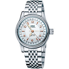 Buy Oris 0175475434061MB Men's Big Crown Fluted Bezel Bracelet Watch, Silver Online at johnlewis.com