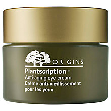 Buy Origins Plantscription™ Anti-Aging Eye Cream, 15ml Online at johnlewis.com