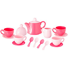 Buy John Lewis Toy Tea Set, 15 Pieces Online at johnlewis.com