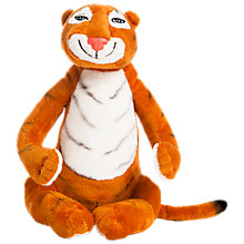 Buy The Tiger Who Came To Tea Plush Toy Online at johnlewis.com