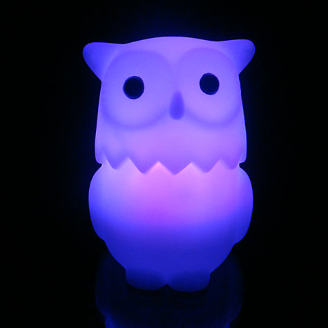 Buy Celeste & Moon Owl Nightlight Online at johnlewis.com