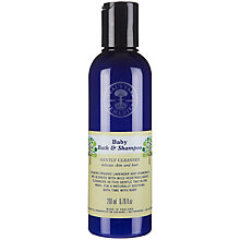 Buy Neal's Yard Baby Bath and Shampoo, 200ml Online at johnlewis.com