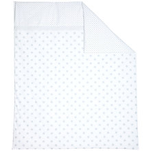 Buy John Lewis Star Cotbed Quilt, Grey Online at johnlewis.com