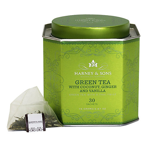 Buy Harney & Sons Historic Royal Palaces Green Tea with Coconut, 75g Online at johnlewis.com
