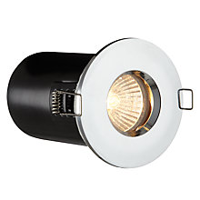 Buy Saxby Recessed Spotlight, Chrome Online at johnlewis.com