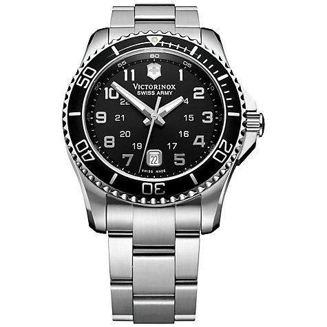 Buy Victorinox Men's Maverick Bracelet Watch Online at johnlewis.com
