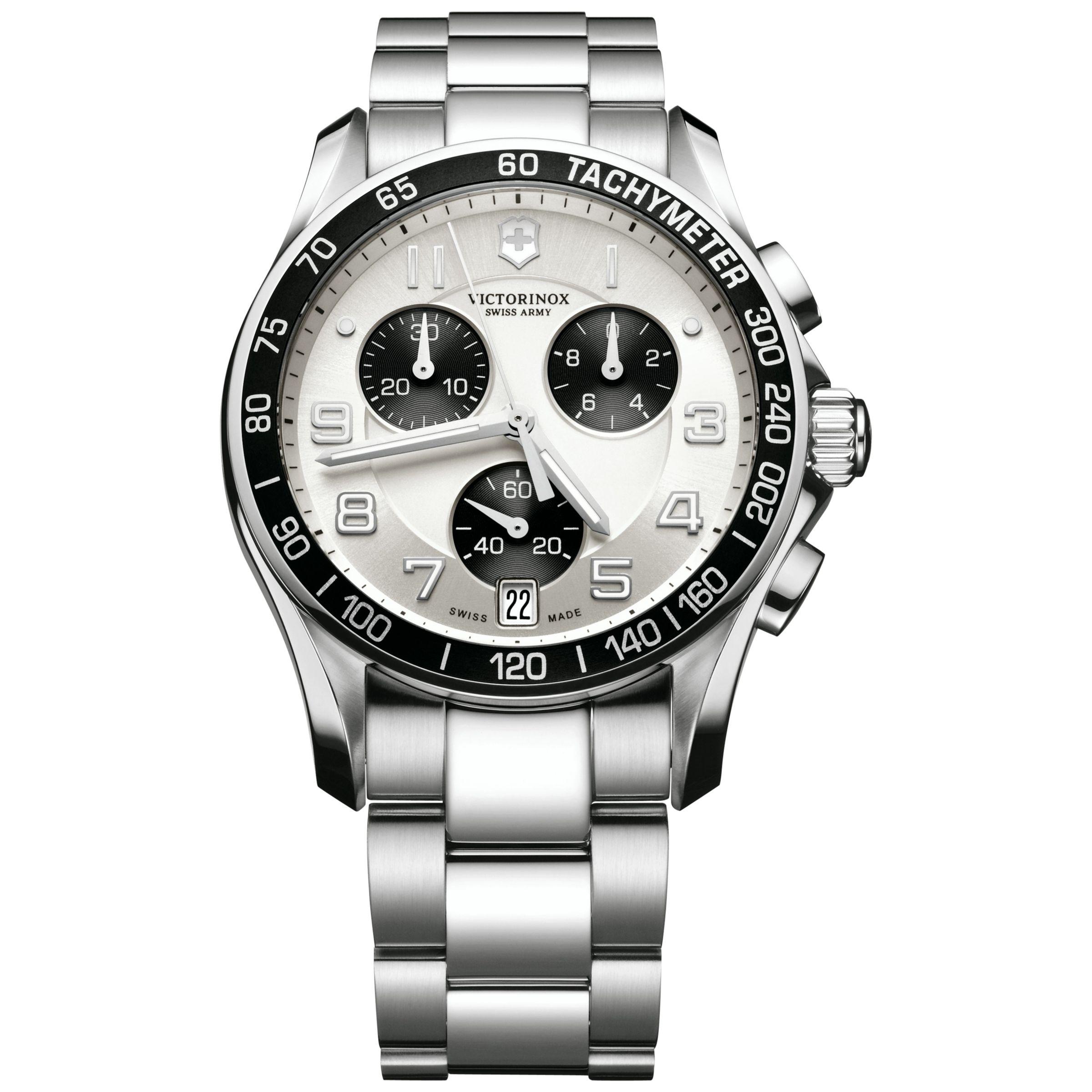 Victorinox Victorinox Men's Chrono Classic Chronograph Bracelet Strap Watch
