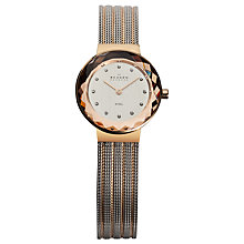 Buy Skagen Women's Diamond Set Dial Mesh Strap Watch Online at johnlewis.com
