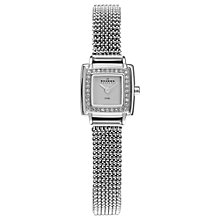 Buy Skagen Women's Diamond Set Bezel Cocktail Mesh Strap Watch Online at johnlewis.com