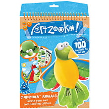Buy Artzooka Clingzooka Animal Craft Kit Online at johnlewis.com