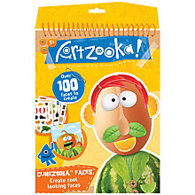 Buy Artzooka Clingzooka Faces Kit Online at johnlewis.com