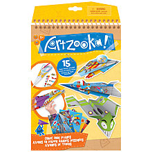Buy Artzooka Comic Book Paper Planes Set Online at johnlewis.com