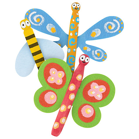 Buy Artzooka Flying Clothes Pins Kit Online at johnlewis.com