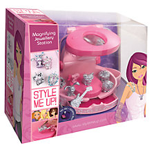 Buy Style Me Up Magnifying Jewellery Station Online at johnlewis.com