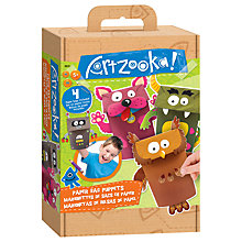 Buy Artzooka Paper Bag Puppets Kit Online at johnlewis.com