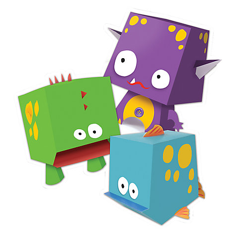 Buy Artzooka Paper Monsters Kit Online at johnlewis.com