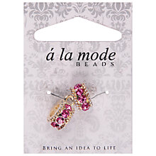 Buy Grove A La Mode Diamante Beads, Pack of 2, Multi Online at johnlewis.com
