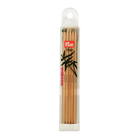 Buy Prym 15cm Double Point Knitting Needles Online at johnlewis.com