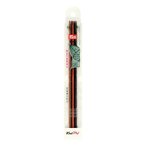 Buy Knit Pro 20cm Cubed Wooden Knitting Needles, 3mm Online at johnlewis.com