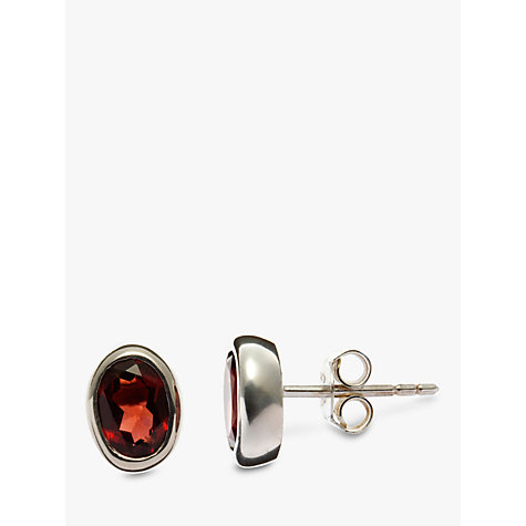 Buy Nina Breddal Oval Stud Earring Online at johnlewis.com