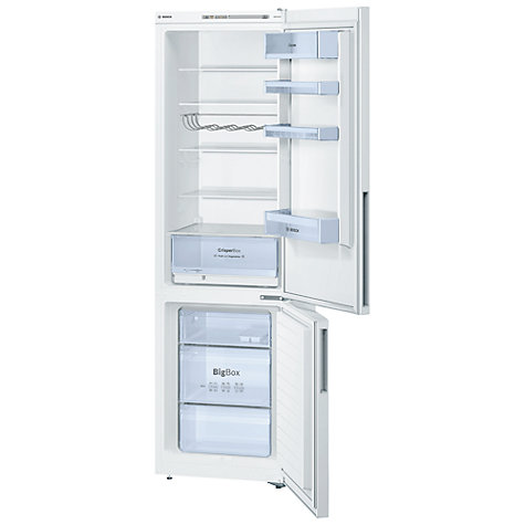 Buy Bosch KGV39VW31G Fridge Freezer, White Online at johnlewis.com
