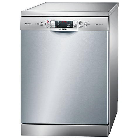 Buy Bosch SMS65E28GB Dishwasher, Silver Online at johnlewis.com