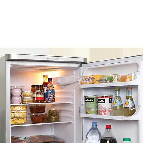 Buy Indesit CAA55S Fridge Freezer, A+ Rated, 54.5cm Wide, Silver Online at johnlewis.com